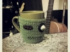 Zombie Coffee Mug Cozy [Test Pattern]