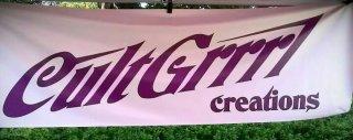 CultGrrrl Creations 10` Banner
