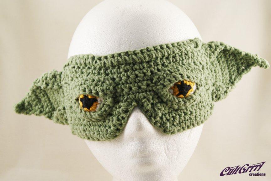 Yoda-esque Sleep Mask / Blindfold
