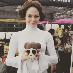 Princess Leia with Calavera Leia