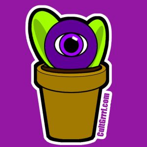 EyePod Sticker