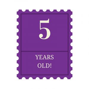 5 Years Old!