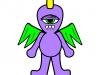 Purple People Eater Illustration