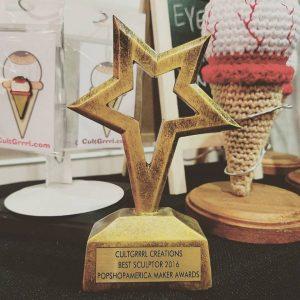 Pop Shop America Maker Award